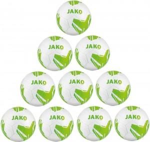 Jako Ballpaket 10x Fußball Light Lightball Striker 2.0 Gr.4 290g