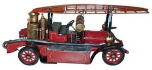 Stirling-Auto Historisches Feuerwehrfahrzeug
