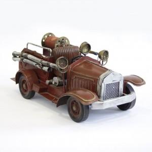 Modellauto Feuerwehrauto Spritzenwagen Historisches Feuerwehrfahrzeug