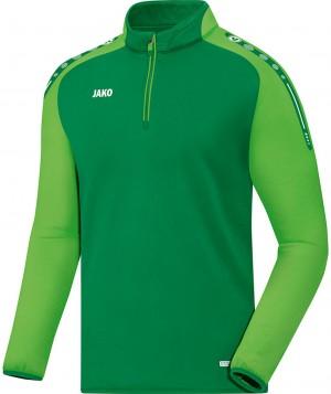 Jako Sweatshirt Ziptop Champ sportgrün grün 8617