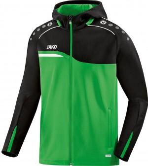 Jako Herren Trainingsjacke Kapuzenjacke Competition 2.0 soft green/schwarz 6818