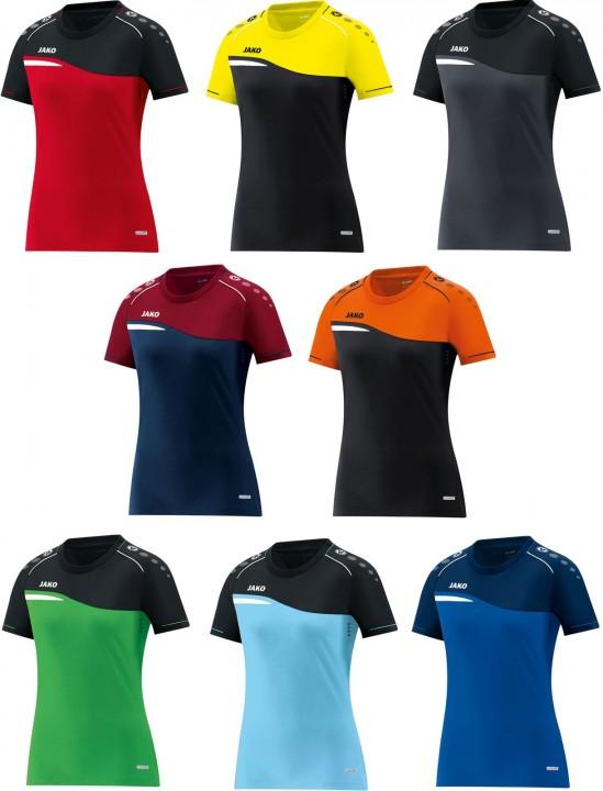 2fd8374beb86cf Jako Damen T-Shirt Competition 2.0 6118 | Sport-Schweiger
