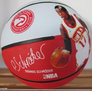 Spalding Basketball Dennis Schröder NBA Player Ball Gr.7