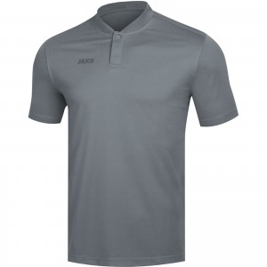 Jako Herren Poloshirt Polo Prestige steingrau grau 6358