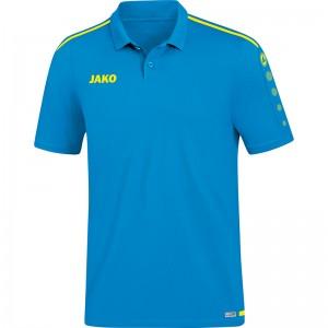 Jako Poloshirt Polo Striker 2.0 JAKO blau/neongelb 6319