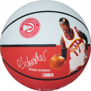 Spalding Basketball NBA Player Dennis Schröder Gr.7