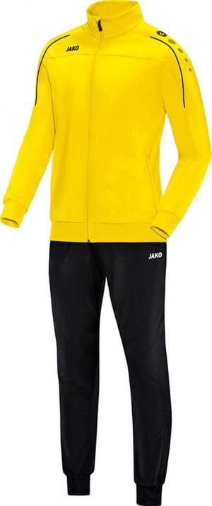 Jako Trainingsanzug Classico citro gelb Polyesteranzug Jogginganzug