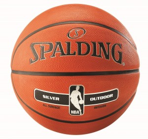 Spalding Basketball NBA Silver Outdoor