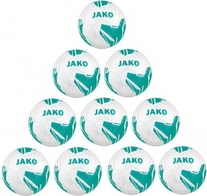 Jako Ballpaket 10x Fußball Light Lightball Striker 2.0 Gr.5 350g