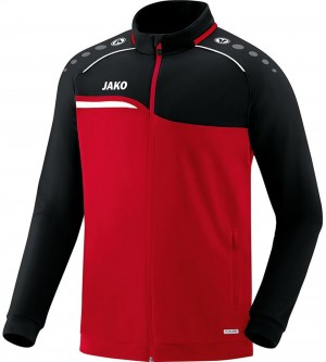 Jako Kinder Trainingsanzug Competition 2.0 rot/schwarz M9118