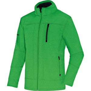 Jako Kinder Jacke Softshelljacke Team soft green Gr.140