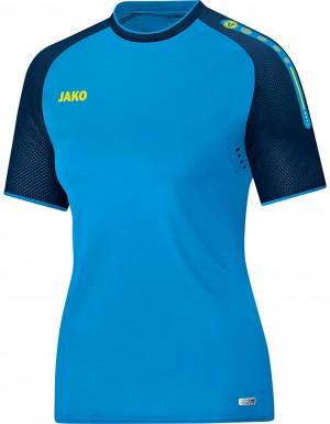 Jako Damen T-Shirt Champ JAKO blau marine neongelb