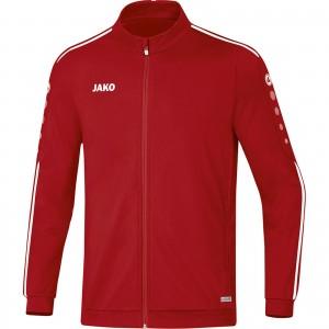 Jako Kinder Polyesterjacke Trainingsjacke Striker 2.0 chili rot/weiß 9319
