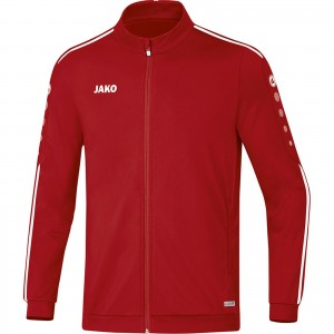 Jako Polyesterjacke Trainingsjacke Striker 2.0 chili rot/weiß 9319