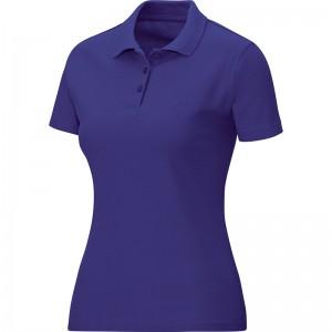 Jako Damen Baumwolle Polo Team lila 6333