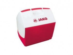 Jako Kühlbox 6 Liter rot/weiß