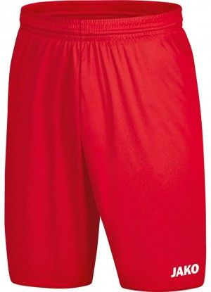 Jako Damen Sporthose Short Manchester 2.0 rot - 4400D