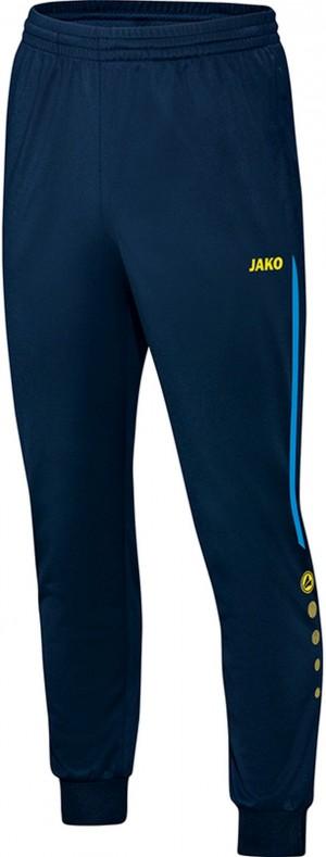 Jako Polyesterhose Trainingshose Champ marine/JAKO blau/neongelb 9217