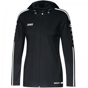 Jako Damen Trainingsjacke Kapuzenjacke Striker 2.0 schwarz/weiß 6819