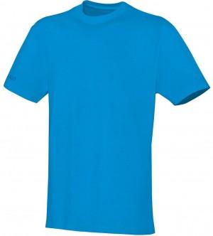 Jako Herren T-Shirt Team JAKO blau 100% Baumwolle 6133