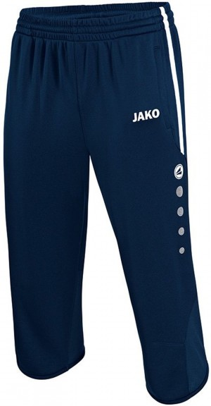Jako 3/4 Trainingsshort Active Short marine/weiß 8395