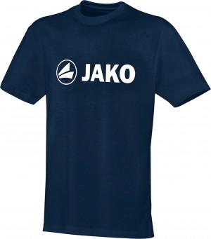 Jako Baumwolle T-Shirt Promo marine blau 6163