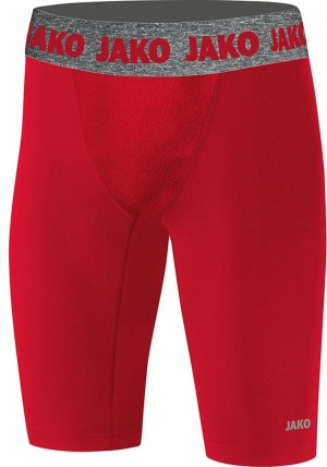 Jako Herren Short Tight Compression 2.0 rot - 8551