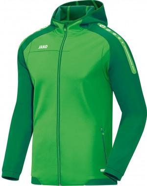 Jako Herren Jacke Trainingsjacke Kapuzenjacke Champ soft green sportgrün grün 6817