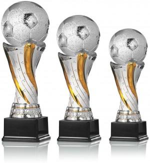 3er Serie Fußball Fußballpokal Trophäe 28cm 32cm 36cm