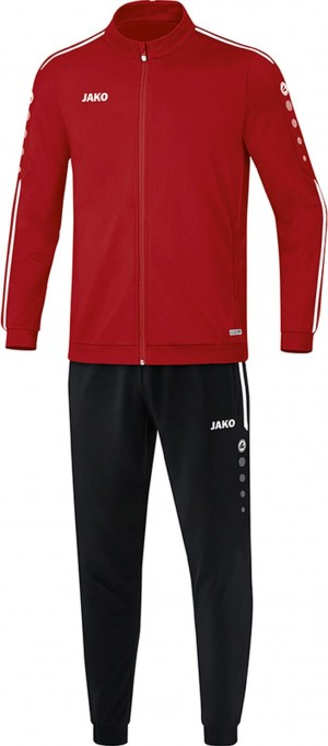 Jako Kinder Trainingsanzug Striker 2.0 chili rot/weiß M9119