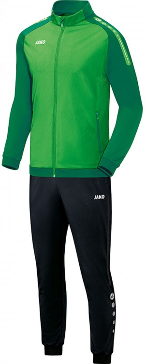 Jako Kinder Polyesteranzug Trainingsanzug Champ soft green grün M9117