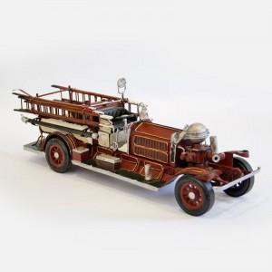 Modellauto Feuerwehrauto Einsatzfahrzeug Historisches Feuerwehrfahrzeug