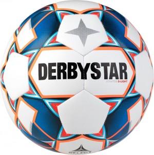 10x Fußball Derbystar Stratos S-Light 290g Gr.3 Gr.4