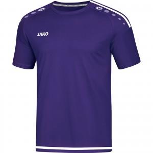 Jako Herren T-Shirt Striker 2.0 lila/weiß 4219