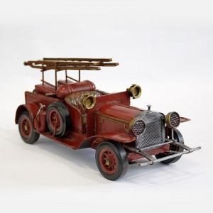 Modellauto Feuerwehrauto Einmannwagen Historisches Feuerwehrfahrzeug