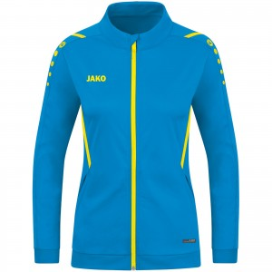 Jako Damen Trainingsjacke Challenge JAKO blau/neongelb 9321