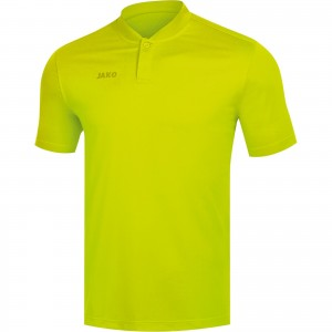 Jako Herren Poloshirt Polo Prestige lemon 6358