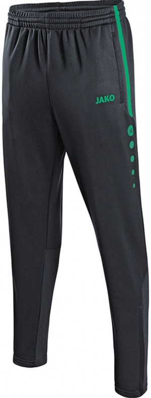 Jako Jogginghose Trainingshose Active anthrazit/türkis 8495
