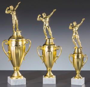 Bodybuilding Pokale 3er Serie