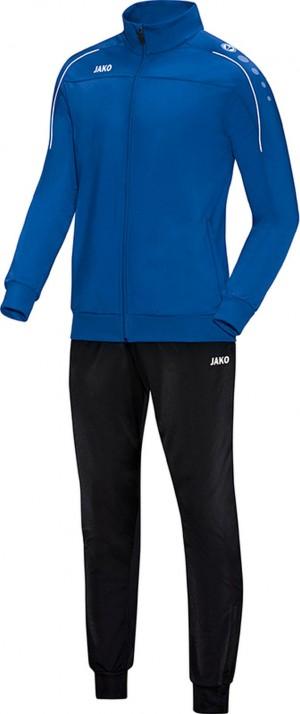 Jako Trainingsanzug Classico royal blau Polyesteranzug Jogginganzug