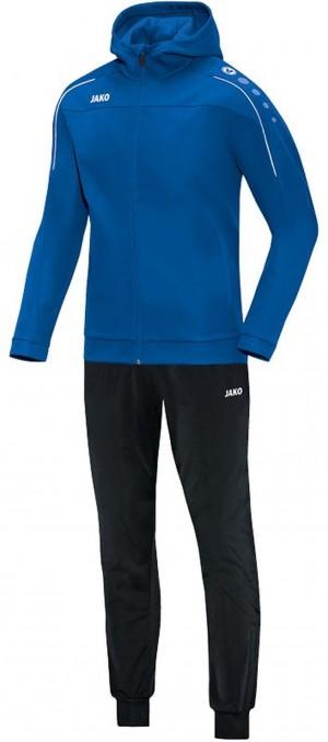 Jako Kapuzen Trainingsanzug Classico royal blau Jogginganzug