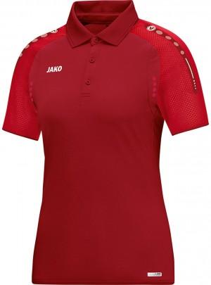 Jako Damen Poloshirt Polo Champ dunkelrot rot 6317