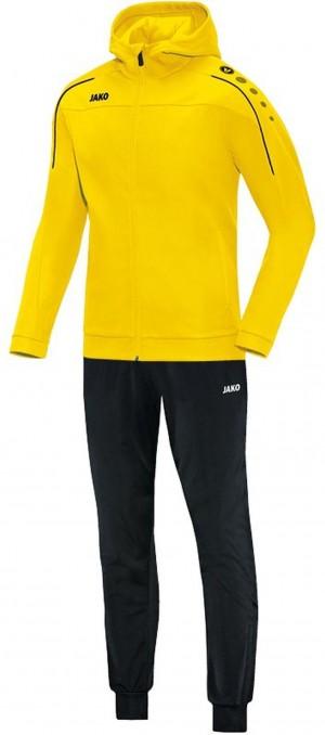 Jako Kapuzen Trainingsanzug Classico citro gelb Jogginganzug