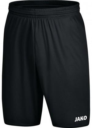 Jako Damen Sporthose Short Manchester 2.0 schwarz - 4400D