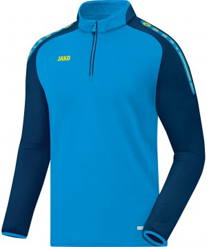 Jako Sweatshirt Ziptop Champ JAKO blau 8617