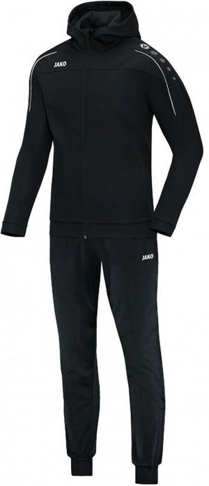 Jako Kinder Kapuzen Trainingsanzug Classico schwarz Jogginganzug