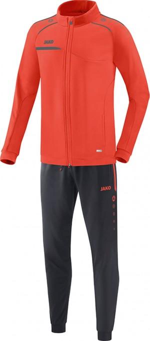 Jako Herren Jogginganzug Trainingsanzug Prestige flame/steingrau M9158